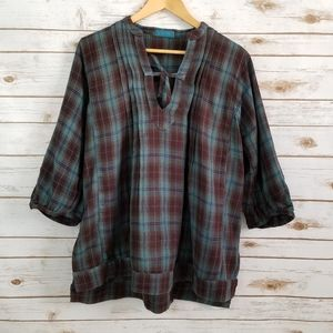 CP Shades | Flannel blouse